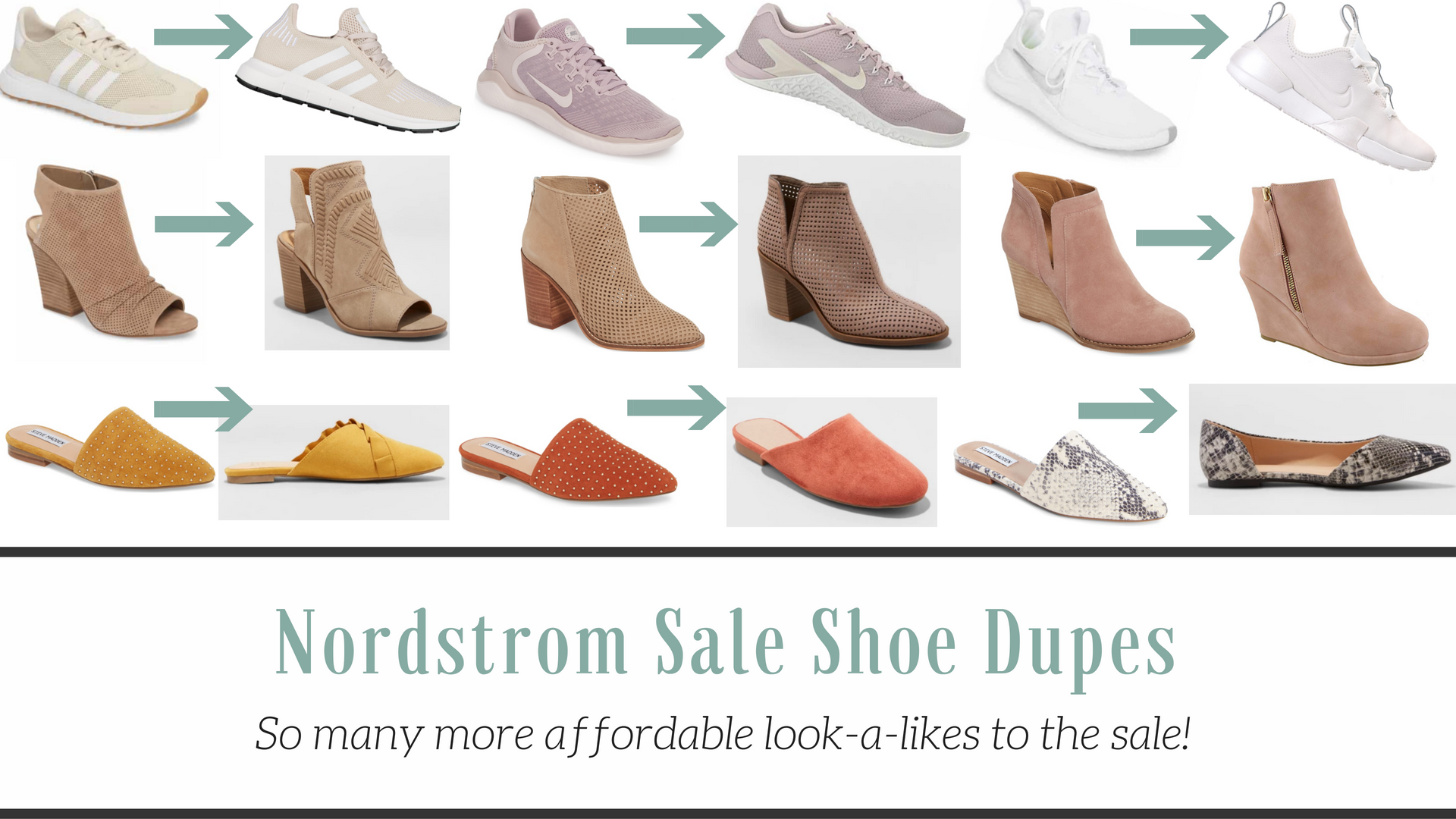 Nordstrom Anniversary Sale Shoe Dupes |