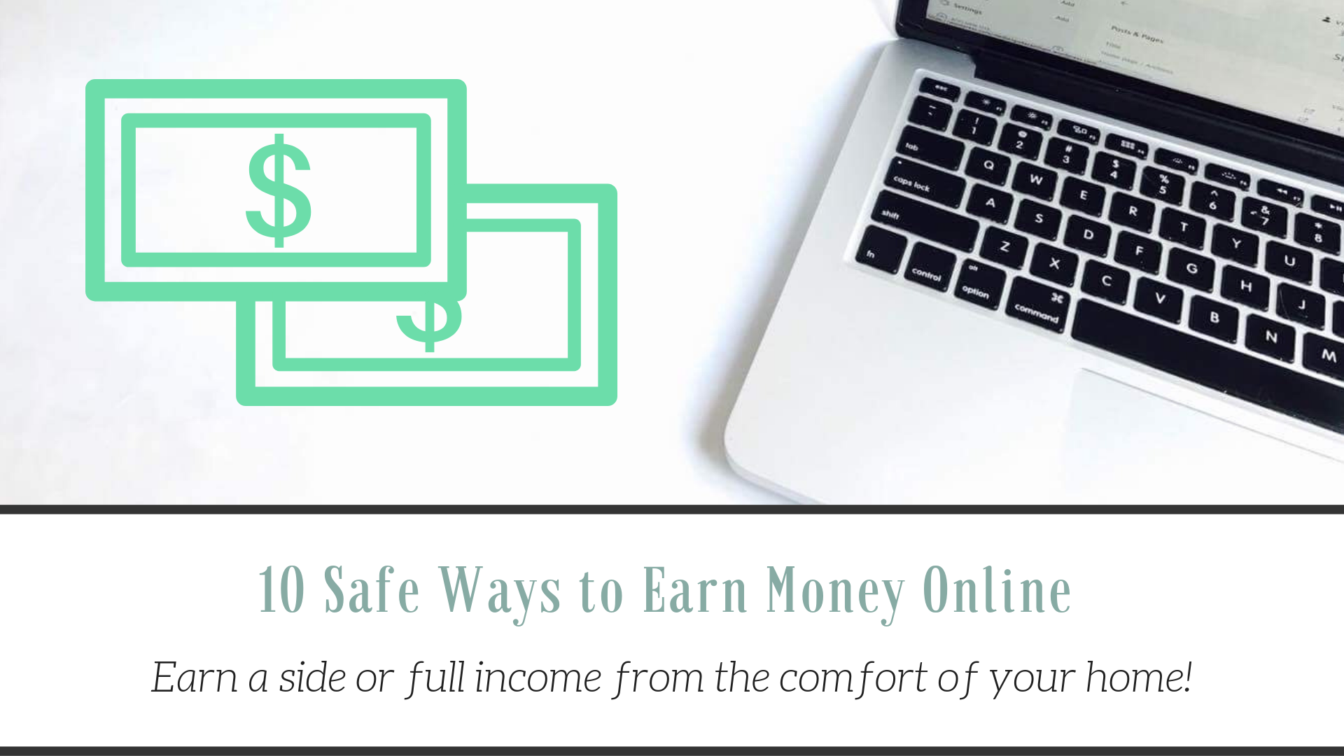 10 Safe Ways to Make Money Online |