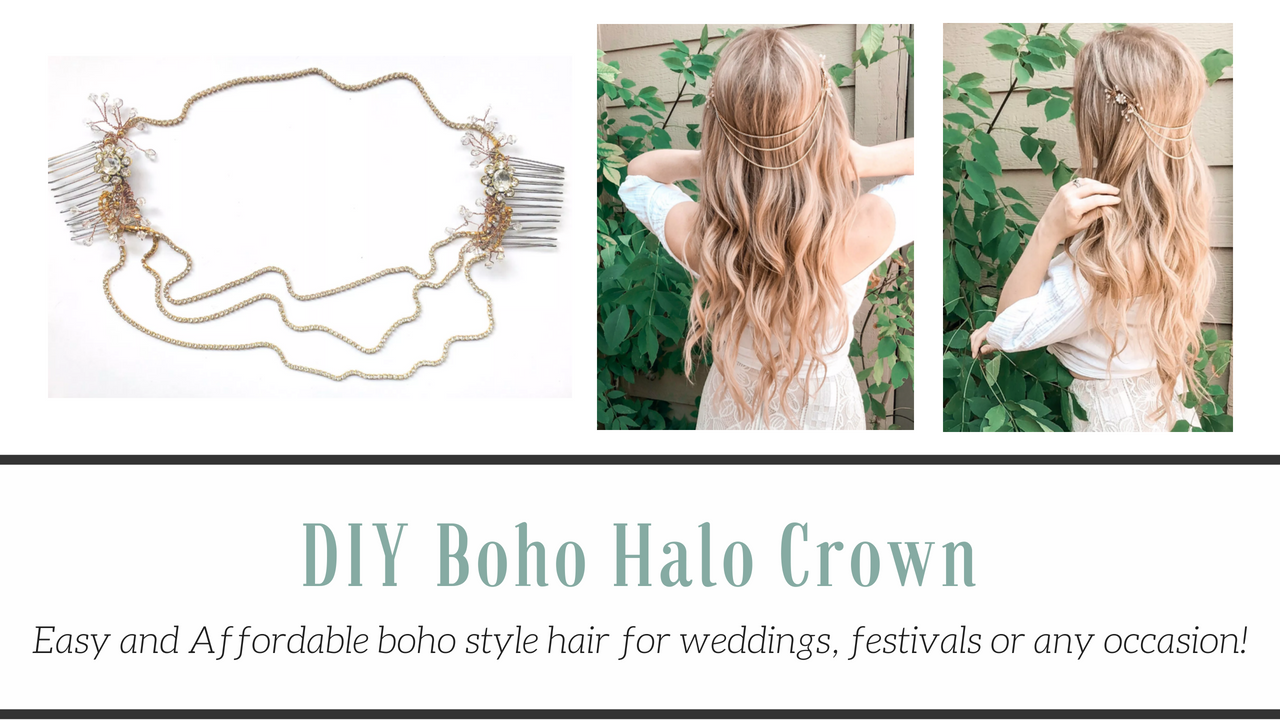 Diy Boho Halo Crown