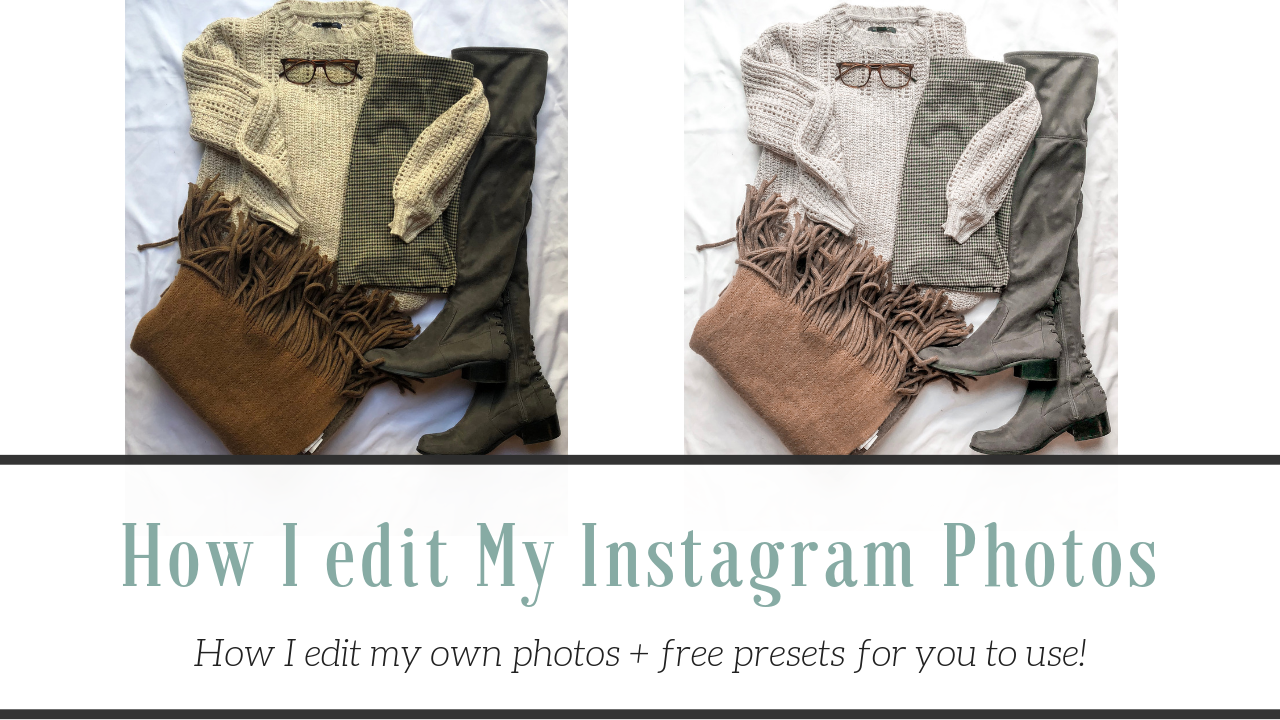 Instagram Preset Tutorials – How I edit my photos for Instagram |