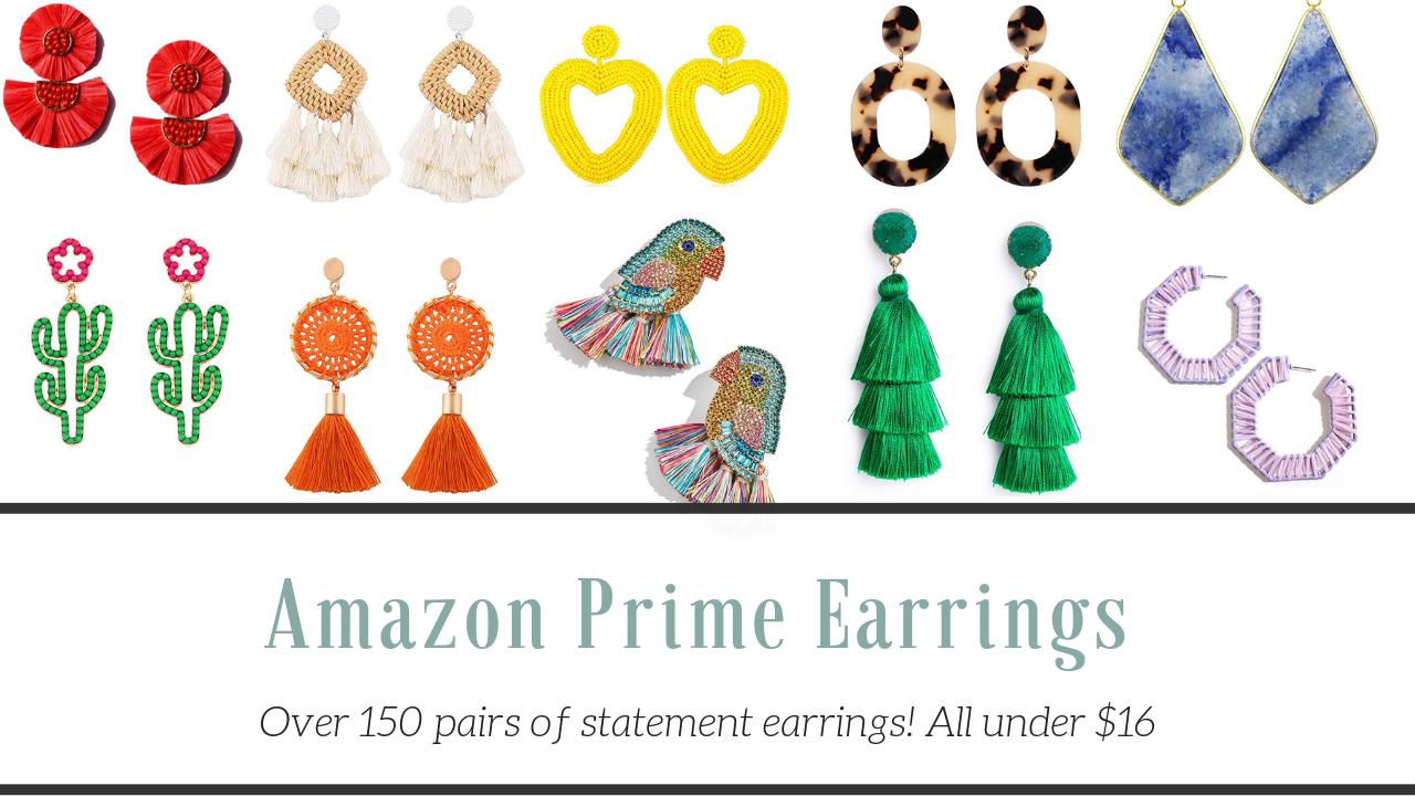 Amazon Prime Earrings + Baublebar Dupes! |